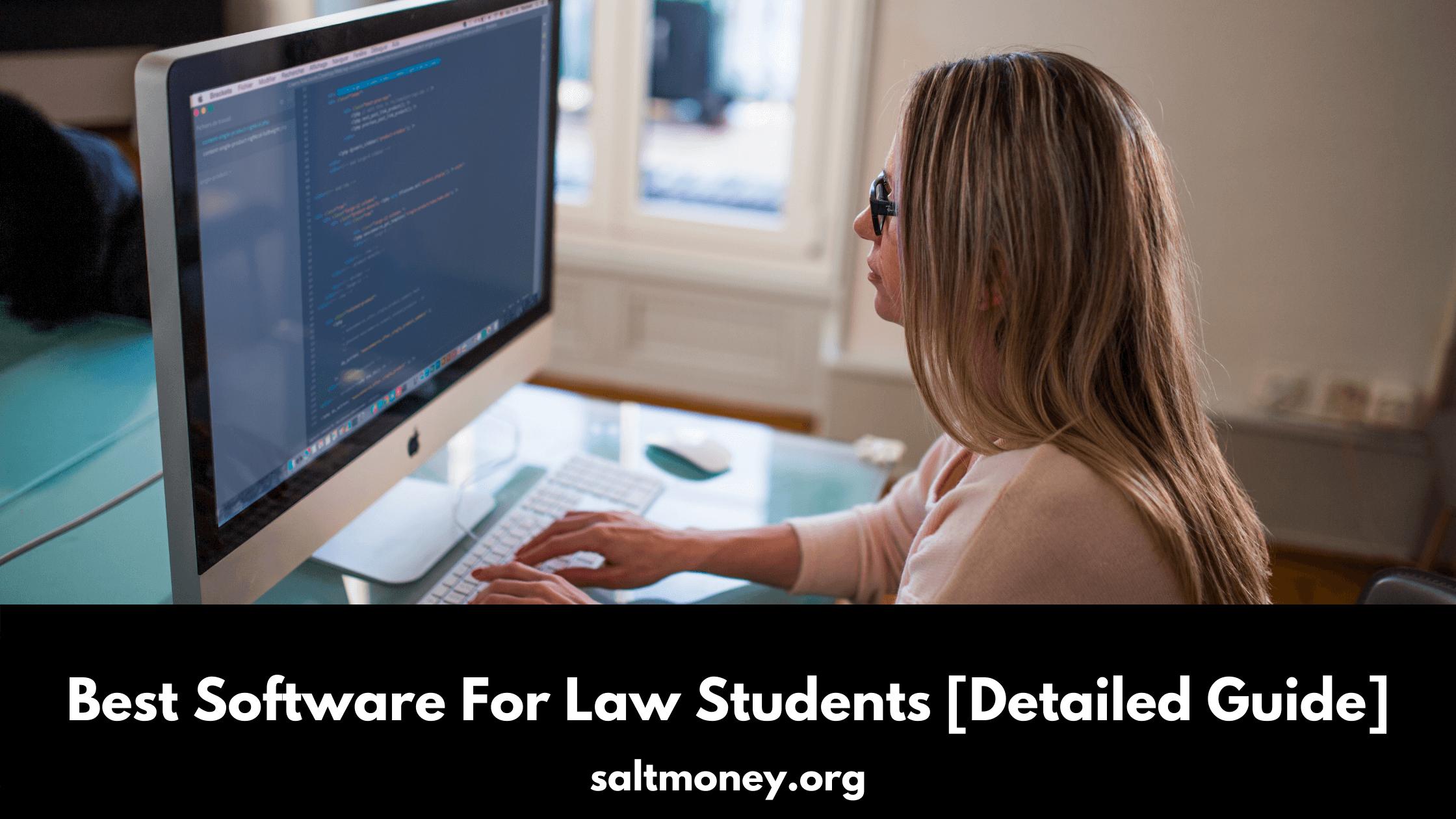 Meilleur logiciel pour les étudiants en droit