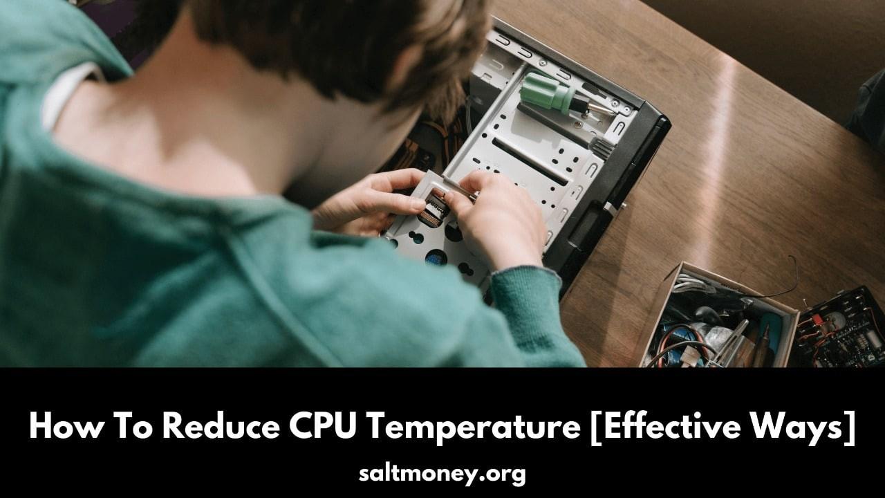 Comment réduire la température du processeur