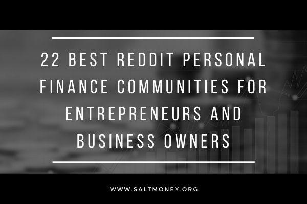 reddit finances personnelles